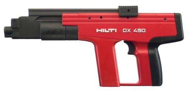 Panosnaulain Hilti DX 450