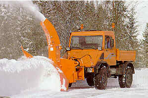 unimog+snowblower